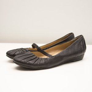 Hush Puppies Leather Flats with HPO2 Flex